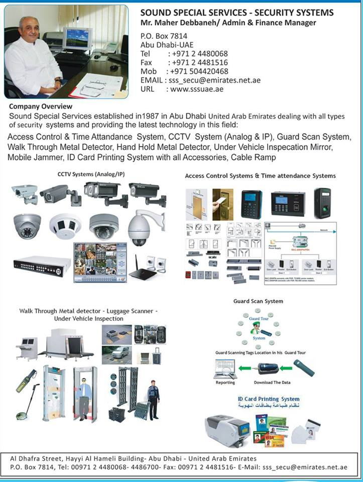 SOUND SPECIAL SERVICES-SECURITY SYSTEMS